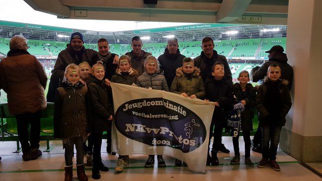 JO11 bezoekt FC Groningen...
